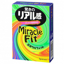 Презервативы Sagami Xtreme Miracle Fit - 5 шт.